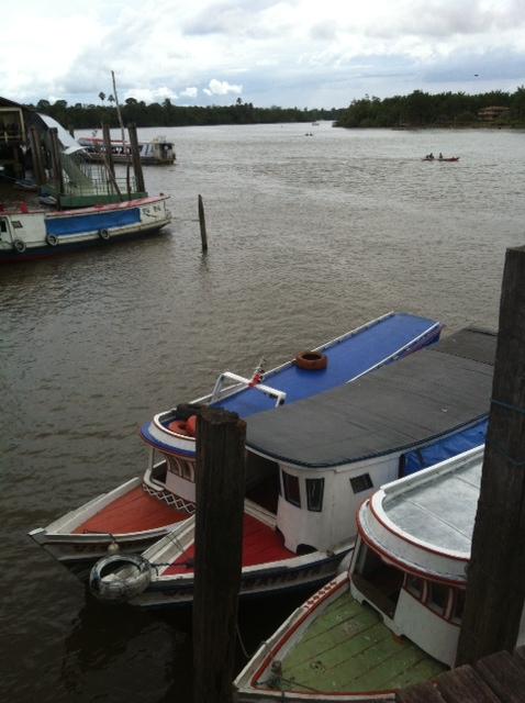 O rio Mucuruçá, em Barcarena, no Pará Foto de André Uzêda/Folhapress