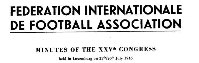 Reprodução -  25º Congresso da Fifa