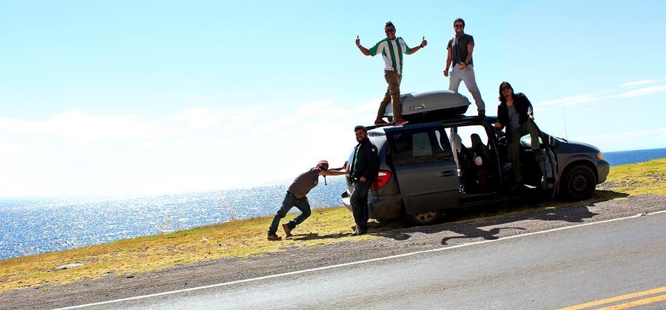 Grupo de mexicanos em jornada pelo Brasil Foto - Arquivo Pessoal
