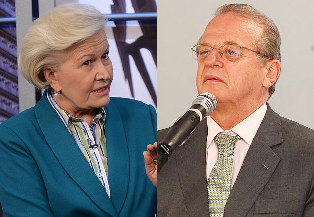Ana Amélia e Tarso Genro, candidatos ao governo do Rio Grande do Sul