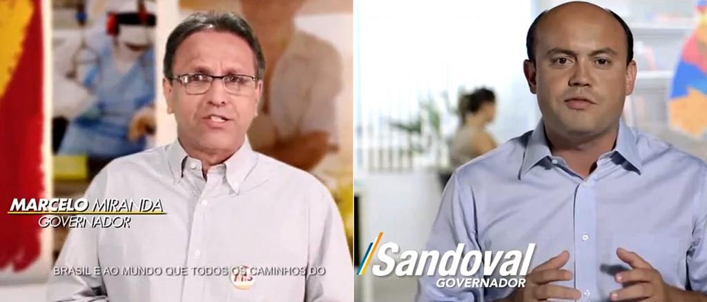 Os candidatos ao governo do Tocantins