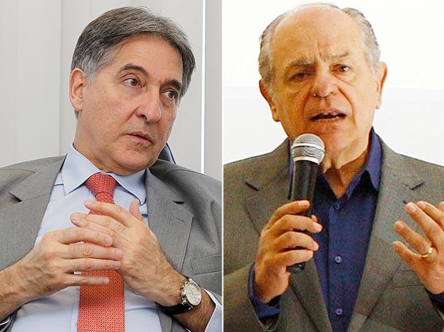 Pimentel (PT) e Pimenta (PSDB), candidatos ao governo mineiro