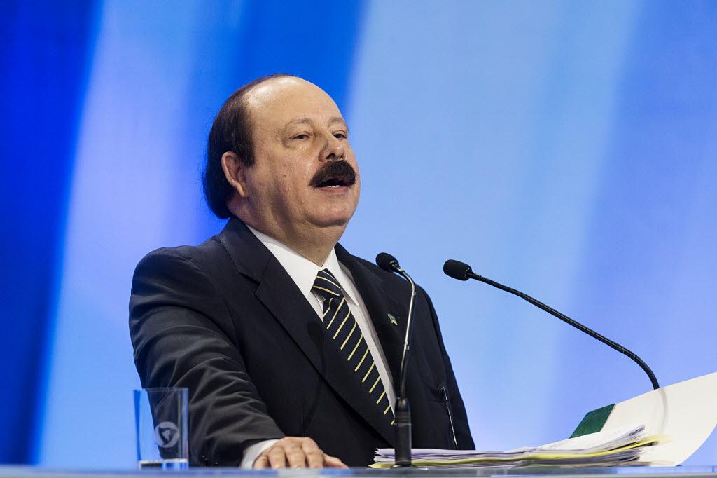 O candidato à Presidência Levy Fidelix (PRTB)