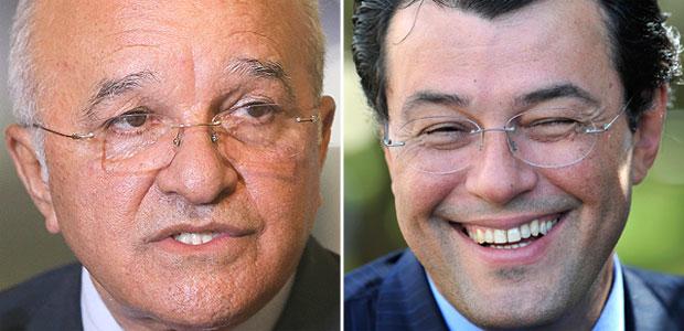 José Melo e Eduardo Braga