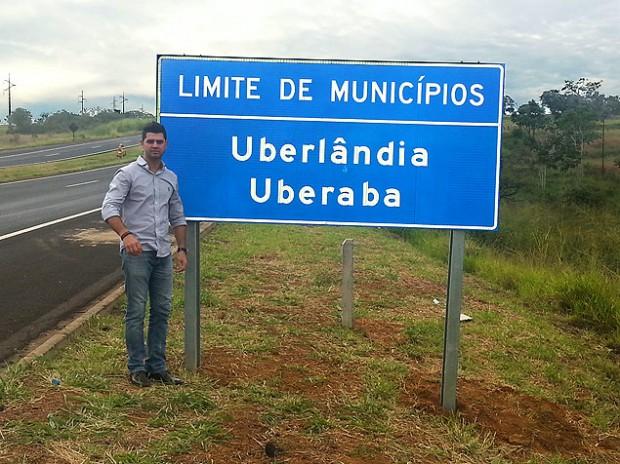 Vereador Edcarlo dos Santos Carneiro (PSL), que fez a denúncia sobre a placa / Divulgação