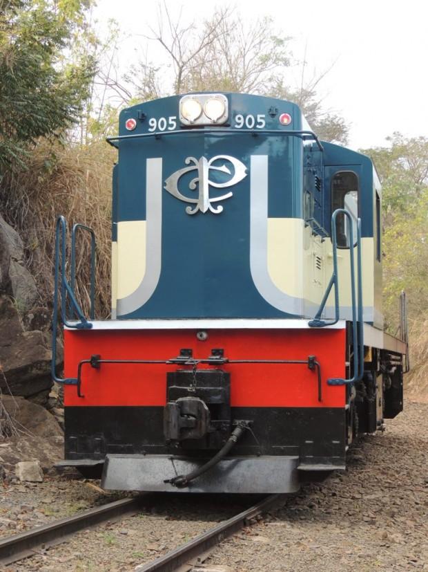 Locomotiva que pertencia à Companhia Paulista e que voltará aos trilhos - Divulgação
