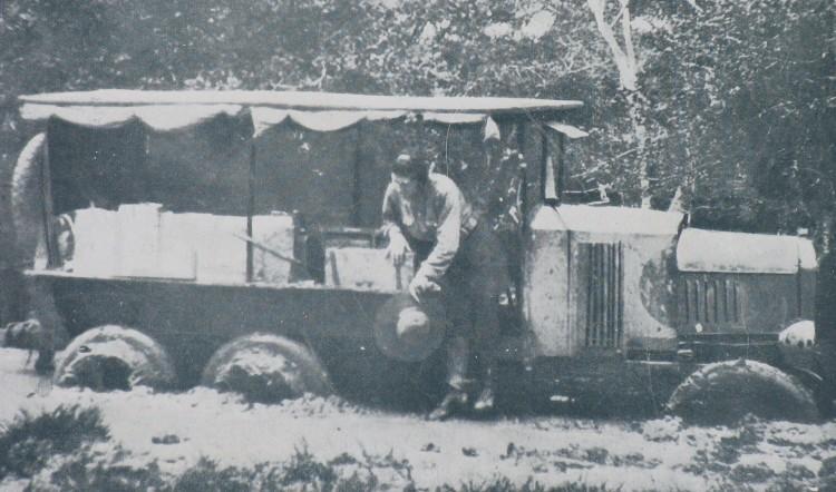Os 'perrengues' da estrada na viagem entre o Rio e Lima em 1926 - Divulgação