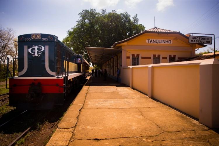 Estações de trem no interior de São Paulo passam por revitalização - Marcus Leoni/Folhapress