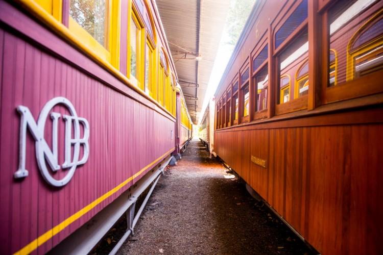 Associação de amantes de trens conseguiu revitalizar estacoes de trem no interior de São Paulo - Marcus Leoni/Folhapress