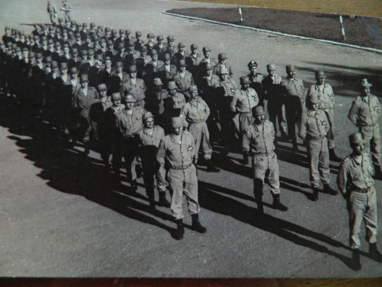 Os boinas azuis  escalados para missões de paz nos anos 50 - Arquivo Pessoal
