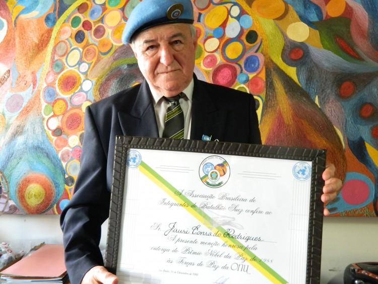 Jauri Conrado Rodrigues, um dos boinas azuis do Paraná - Crédito: Diego Antonelli