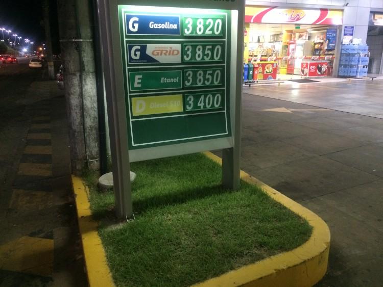 Em Boa Vista, etanol chega a custar mais que a gasolina em postos de combustíveis - Foto: Marcelo Toledo/Folhapress